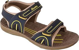 BATA Men Blue Brown Sports Sandal Floaters