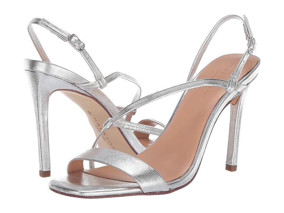 Halston Heritage Isla Sandals (Silver Metallic) Women