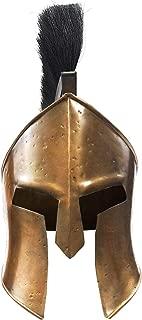 Medieval 300 Spartan Leonidas Movie Replica Helmet Armor Knight Adult Costume Functional Antique Design,Large