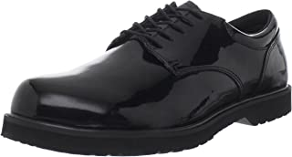 Men's High Gloss Duty Work Shoe