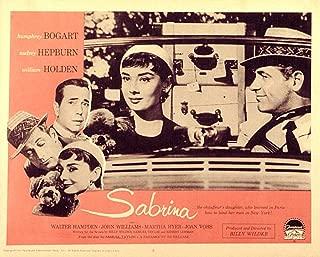 Posterazzi Sabrina Audrey Hepburn William Holden 1954 Movie Masterprint Poster Print, (14 x 11)
