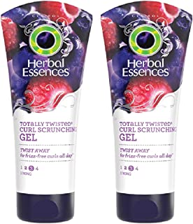 Herbal Essences Totally Twisted Curl Scrunching Gel, 6 oz, 2 pk
