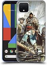 Official Assassin's Creed Edward Kenway Black Flag Key Art Soft Gel Case Compatible for Google Pixel 4