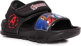 Disney Marvel Avengers by Toothless Kids Boys Black Moulds Slipper