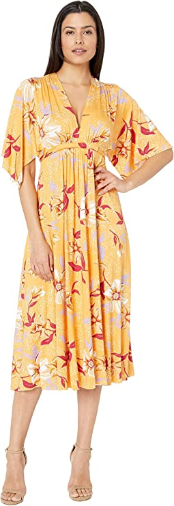 Mid Length Caftan Dress