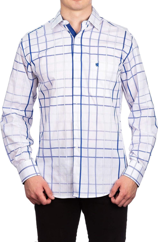Manchester Men's Dress Max 68% OFF Shirt Regular Sleeve Fort Worth Mall Long Fit