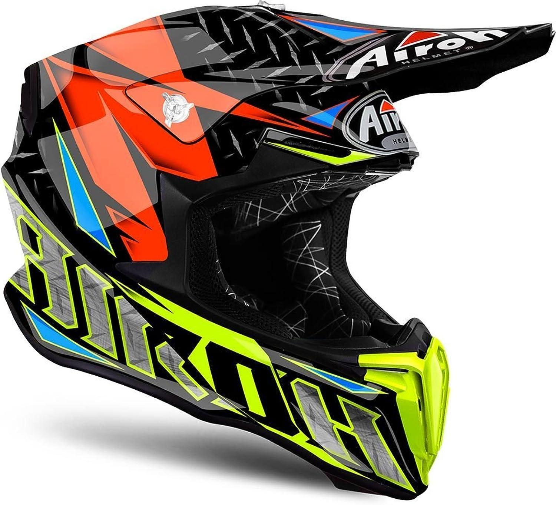Airoh Twist MX Helmet X Small Iron orange
