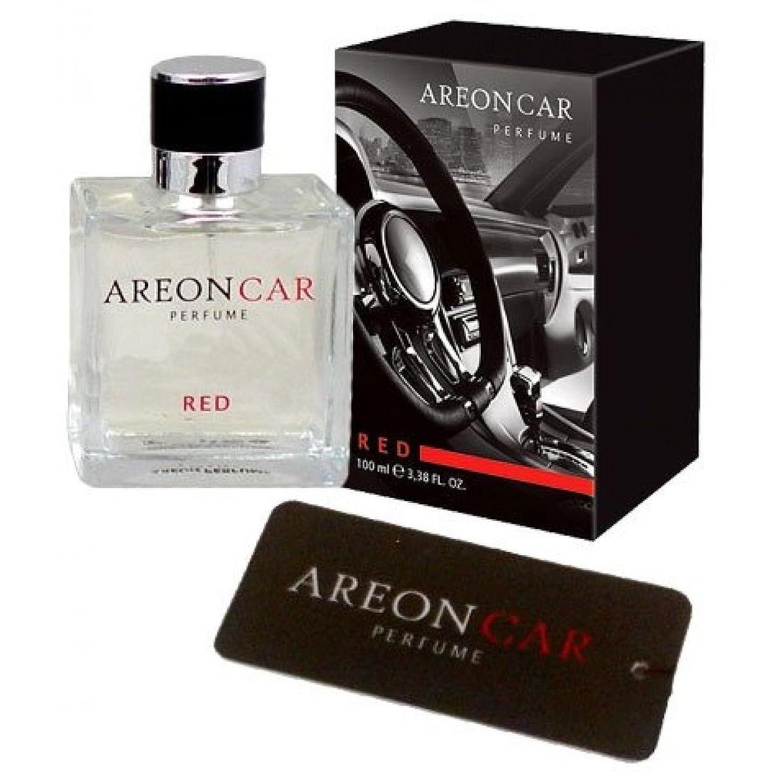 窓を洗う添加甘やかす車とホームPerfume Areon。Enjoy Your Enviroment。 50ML 1,7 FL. 0Z. レッド MCP03