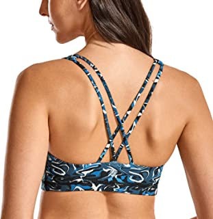 CRZ YOGA Damen-Bikini mit Hohem Kragen Abnehmbare und Weiche Pads Badeanzug
