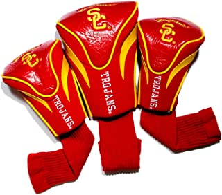 Team Golf NCAA Contour Golf Club Headcovers (3 Count), Numbered 1, 3, & X, Fits Oversized Drivers, Utility, Rescue & Fairw...
