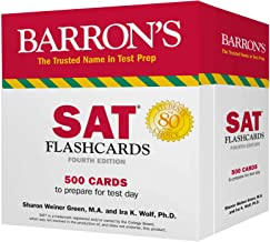SAT Flashcards: 500 Cards to Prepare for Test Day (Barron's Test Prep)