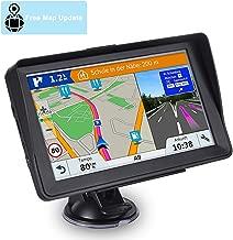 GPS Navigation for Car, Aonerex 7 inch 8GB&256MB GPS Navigation System,Spoken Turn- to-Turn Traffic Alert Vehicle Car GPS Navigator,Lifetime Free Map Updates