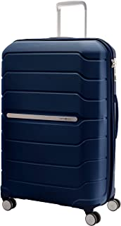 Samsonite 78793 Octolite Spinner Hard Side Luggage Bag, Navy, 81 Centimeters