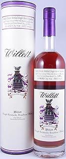 Willett 22 Years Family Estate Single Barrel No. C18D Rare Release Kentucky Straight Bourbon Whiskey 68,85% - eine von 113 Flaschen