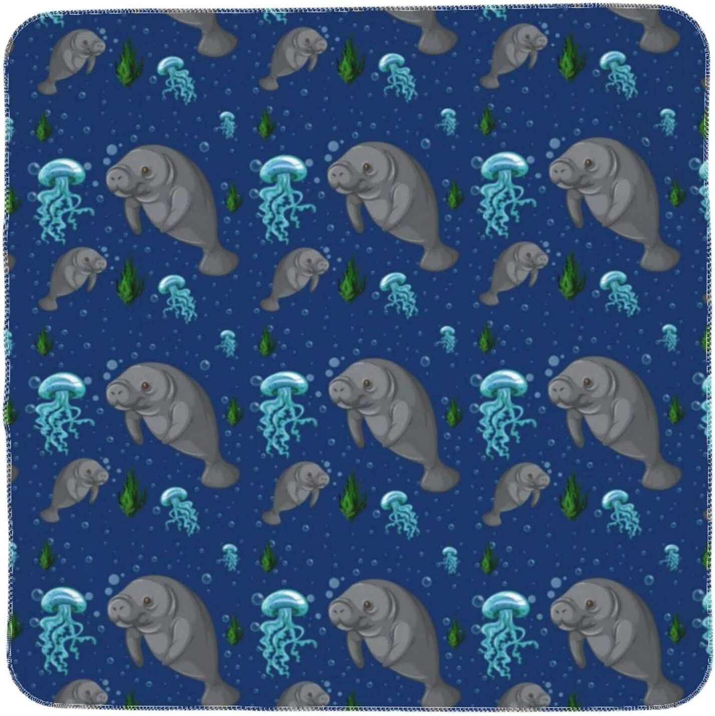 Manatee Underwater Breathable Baby Blanket Receiving Lig Swaddle Challenge the lowest price Special sale item of Japan
