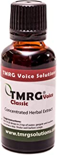 TMRG Classic Professional Vocal Cord Remedy 100% Natural Herbal Voice Supplement TMRG Drops (30ml)