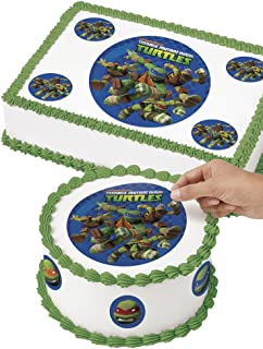 Wilton 710-7746 TMNT Edible Images Cake Decorating Kit, Multicolor