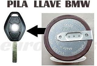 Panasonic ML2020 VL2020, Pilas de botón para Llaves y Mando a Distancia de BMW Serie 3, 5, 7, X3, X5, E46, E38, E39, E60, E61, E53, E83