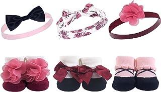Hudson Baby Unisex Baby Headband and Socks Set