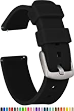 GadgetWraps 22mm Silicone Watch Band Strap with Quick Release Pins – Compatible with..