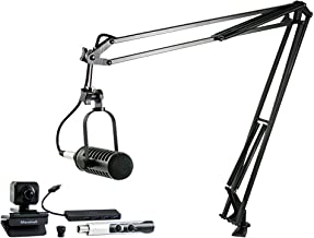 MXL VPS SOLO Visual Podcasting Station with 1 Microphone and Camera