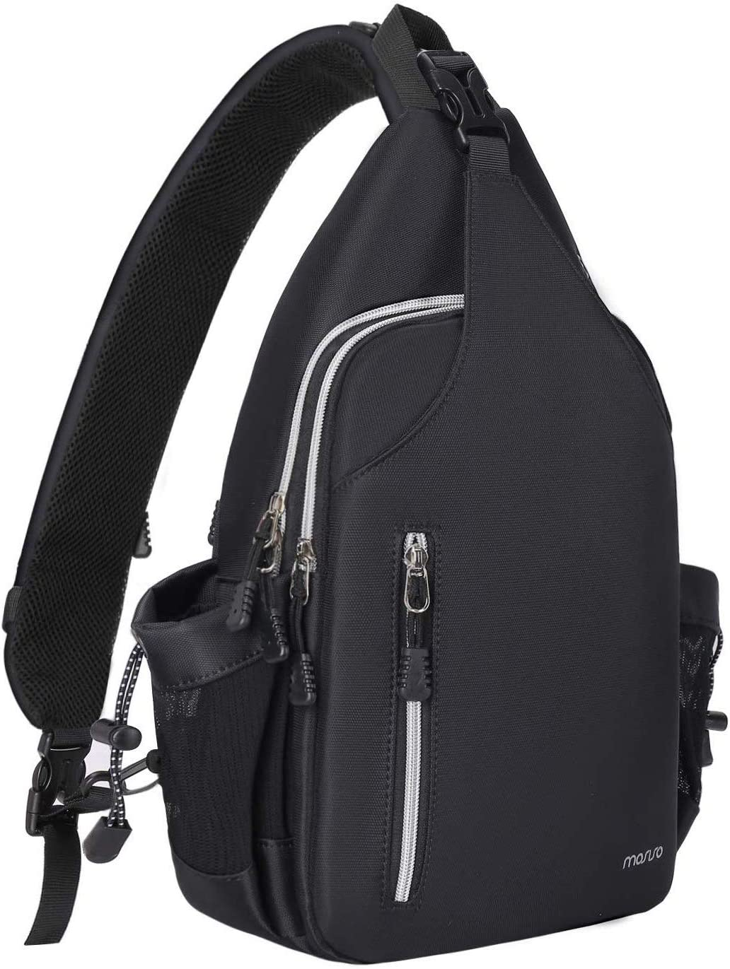 MOSISO Year-end annual account Sling Backpack Double Layer Ches Women Sacramento Mall Daypack Men Hiking