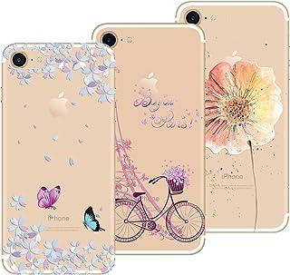 01f0e09da21 Yokata Funda para iPhone 7 Funda iPhone 8, [3 Packs] Carcasa Transparente  Ultra