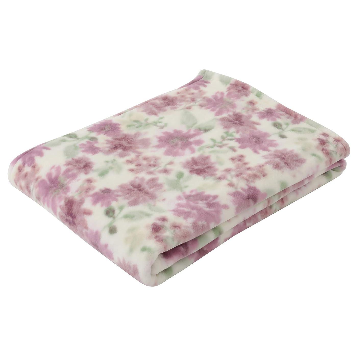 先行するフック民主主義東京西川 毛布 ピンク シングル 軽量 日本製 マイモデル フラワーシャワー柄 FQ08060015P