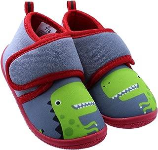 Toddler Boys Dinosaur Daycare Slippers