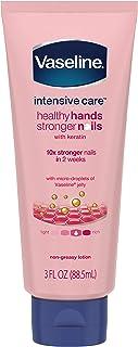 Vaseline Intensive Care Hand Lotion, Healthy Hands Stronger Nails, 3 oz