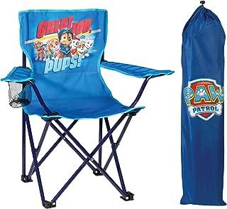 Nickelodeon Paw Patrol Fold N' Go Chair with Storage Bag, Blue