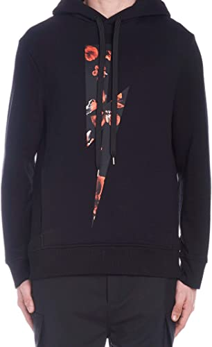 Neil Barrett Luxury mode Homme BJS467DL574S1076 Noir Sweatshirt   Saison Perhommeent