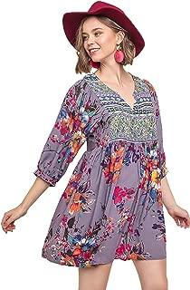 Umgee Women's Bohemian Tunic or Dress