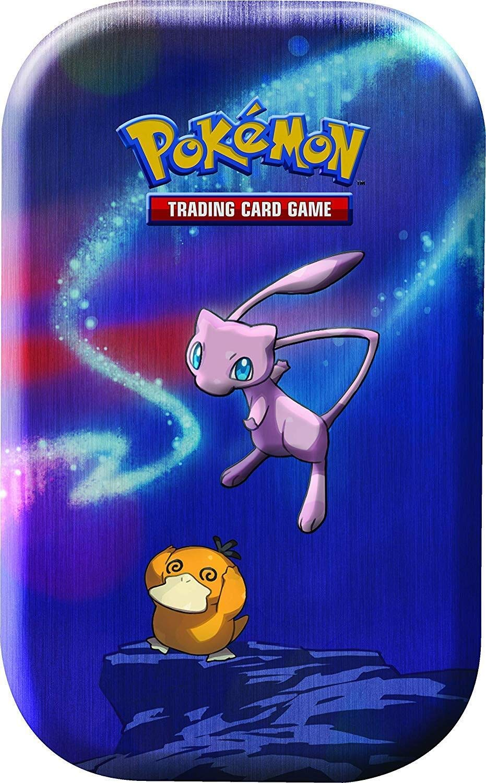 Lively Moments Naipes de Pokemon Mini Caja de Lata Kanto Fuerza ...