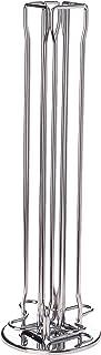 Capstores Tavolaswiss 50.48582 Porte capsules rotatif Vista pouvant contenir 40 capsules Nespresso Acier chromé