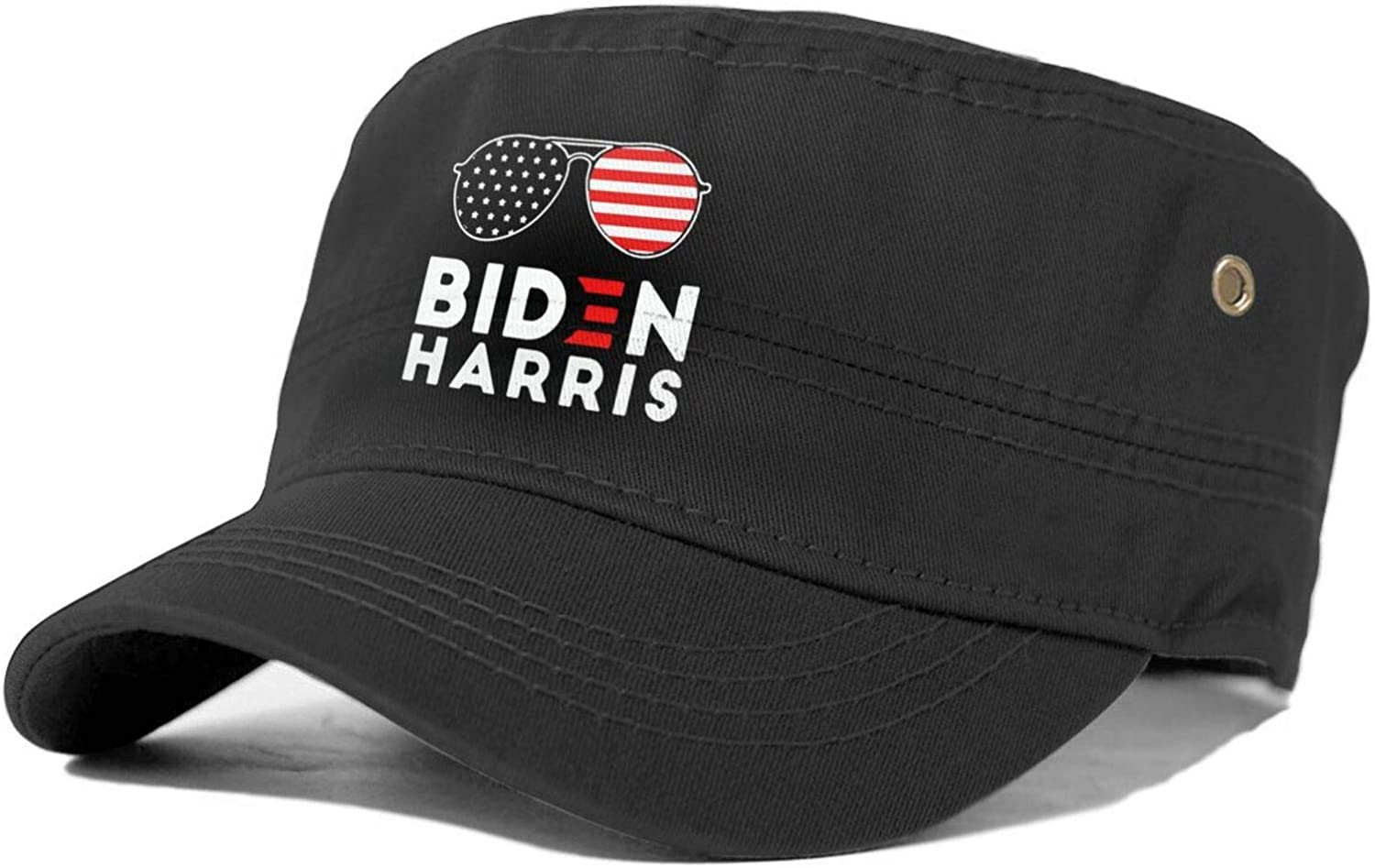 Biden Harris 2020 Sunglasses Cotton Cadet Army Military Cap Hats for Unisex Adult Military Style Hat