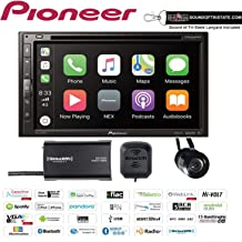 """Pioneer AVH-2550NEX in Dash 6.8"""" DVD Receiver with SiriusXM SXV300V1 Satellite Radio Tuner and Antenna and a Backup Camera and a Sound of Tri-State Lanyard Bundle"""