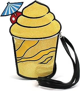 Sidecca Frozen Tropical Drink Novelty Glitter Crossbody Bag