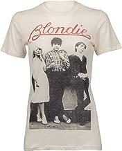 Goodie Two Sleeves Womens Blondie Rocker Band Music Tee T-Shirt