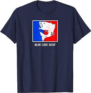 Fishing Shirts   MAJOR LEAGUE BASSIN Bass Fishing Gift Tee