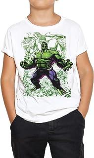 Camiseta Niño - Unisex Superhéroe Hulk