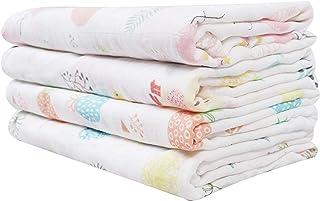 Softan Mantas Swaddle Bebé de EnvolturaMuselina Bambú 120x120cmmantas para bebes