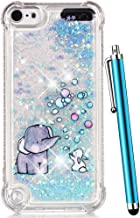 CAIYUNL for iPod Touch 6 Case,iPod Touch 5 Case Glitter, Liquid Sparkle Bling Quicksand..
