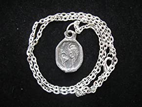 St. Roch, Patron of Dogs and Dog Lovers, Handmade Necklace