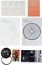 BTS 5th Mini Album - LOVE YOURSELF 轉 HER [ E ver. ] CD + Photobook + Mini Book + Photocard + Sticker Pack + FREE GIFT / K-POP Sealed