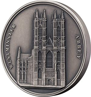 Power Coin Westminster Abbey Abadia Mauquoy Infinity Minting Moneda Plata 1500 Francos Benin 2018