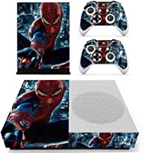 Adventure Games - XBOX ONE S - Spiderman - Vinyl Console Skin Decal Sticker + 2 Controller Skins Set