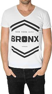 MODERNOMODERNO Bronx New York NYC Urban Graphic T-Shirt for Men (MOD2003VN)