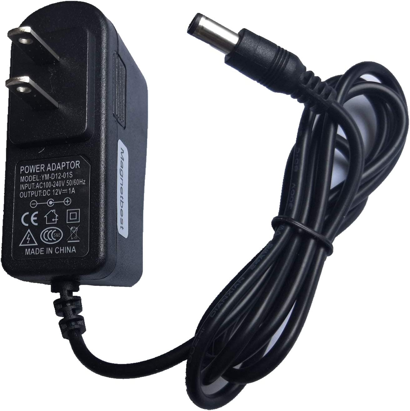 12V 0.833A AC/DC Power Adapter Charger 12V 1A for Bose Sound Link Mini Bluetooth PSA10F-120 Speaker
