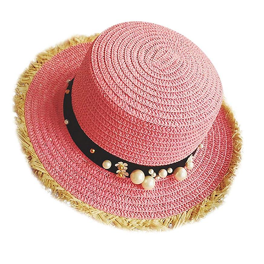 ばかげた寄生虫鋸歯状帽子 レディース UVカット 帽子 麦わら帽子 UV帽子 紫外線対策 通気性 漁師の帽子 ニット帽 マニュアル 真珠 太陽 キャップ 余暇 休暇 キャップ レディース ハンチング帽 大きいサイズ 発送 ROSE ROMAN